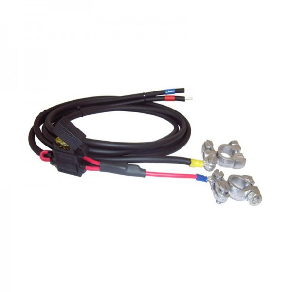 Battery cable, H07RN-F, 2 x 2,5 mm²