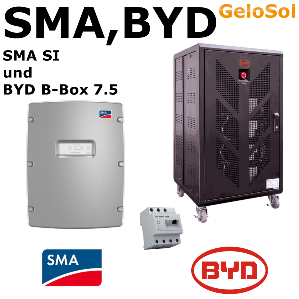 Set BYD B-Box 7.5 + SMA SI 4.4M bis 6.0H