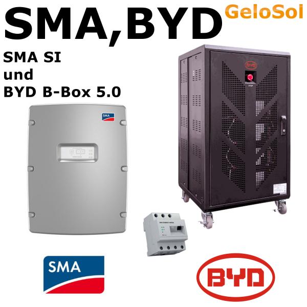 Set BYD B-Box 5.0 + SMA SI 4.4M